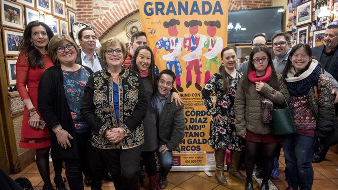 La presentación tuvo lugar en el restaurante Ramírez.