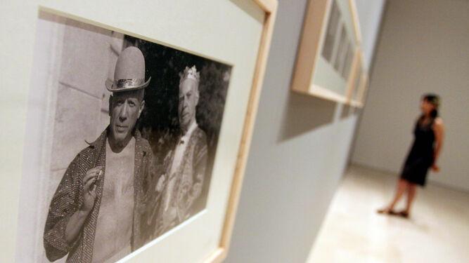 Una de las fotografías que se podrán ver en la exposición 'Picasso. Cerámicas'.