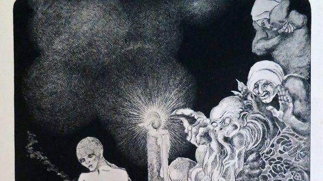 Marga Gil Roësset, arte interrumpido