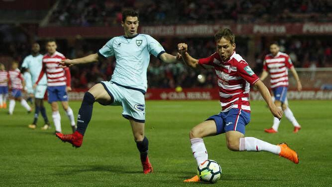 De momento, el Granada CF le tiene ganado el average a todos los equipos de la zona alta a los que se ha enfrentado los dos partidos.