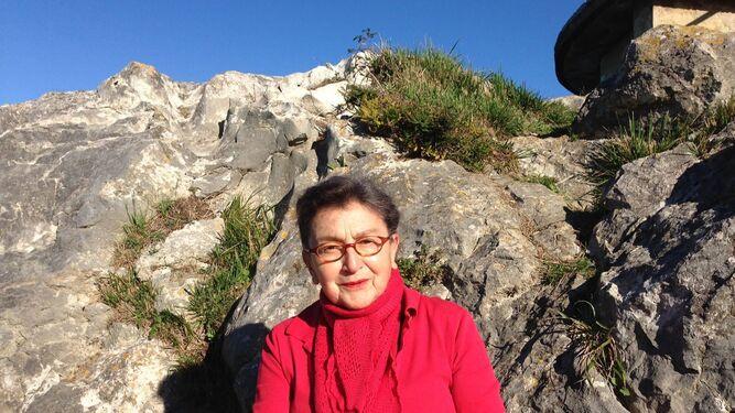A María Izquierdo le encanta la montaña.