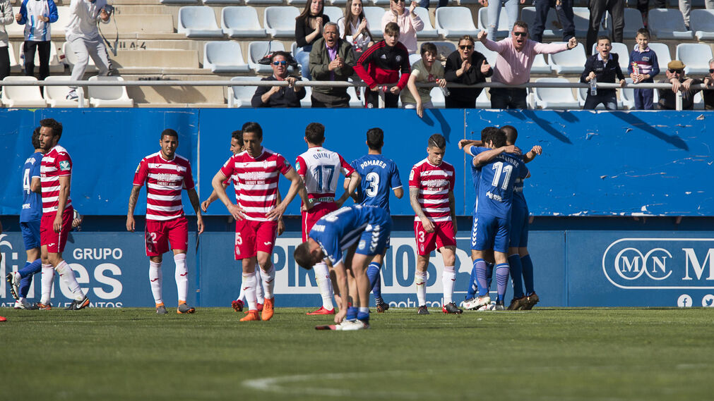 El Lorca-Granada CF, en imágenes