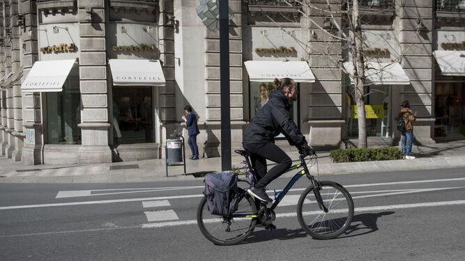 En la ciudad no es obligatorio el uso del casco.