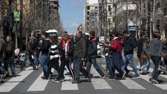 Las calles del Centro de la capital han permanecido abarrotadas durante días.