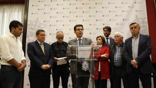 Granada echa un pulso a Fomento con la manifestación por el AVE