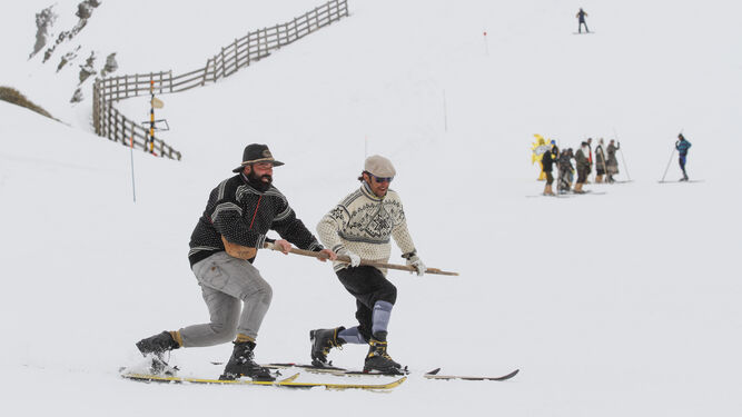 La peña telemarkera Rikitaum promueve este divertido descenso.