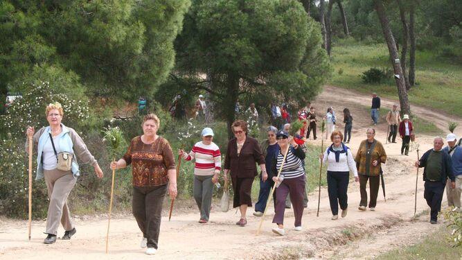 El senderismo es una de las actividades más gratificantes.