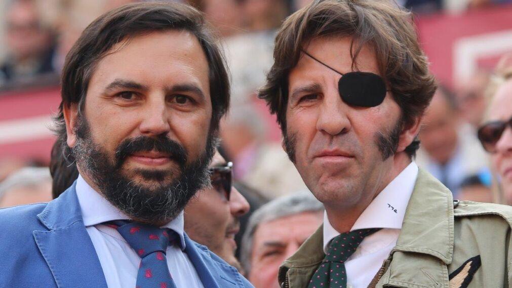 El Doctor Alberto García-Perla y Juan José Padilla