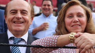 José Luis del Serranito y su esposa Mª Ángeles García
