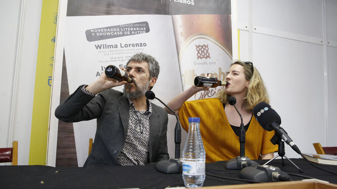 Presentación de 'No eres poeta en Granada'.