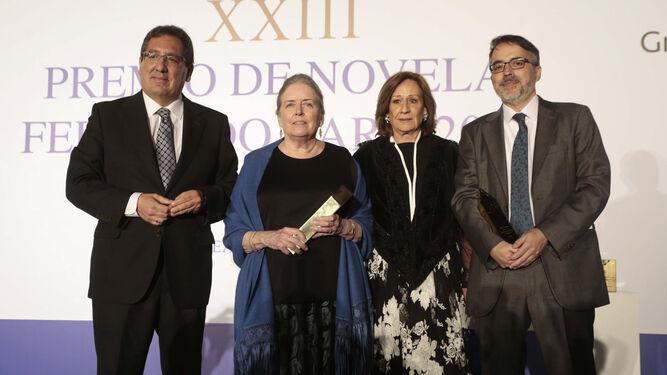 Antonio Pulido, Carolyn Richmond de Ayala, Consuelo García Píriz y José Manuel García Gil.