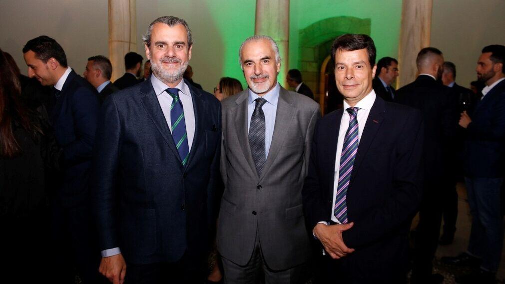 Francisco de Asís Muñoz, Antonio Romero y Federico Sánchez.