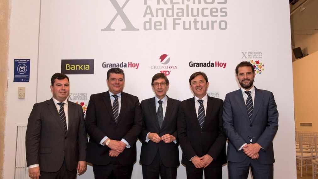 Carlos Alberto Sánchez, Salvador Curiel, José Ignacio Goirigolzarri, Joaquín Holgado y Francisco Javier Muñoz.