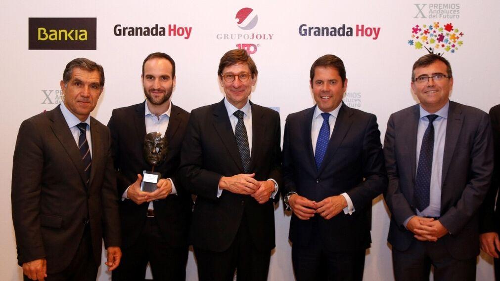 Lorenzo del Río, Juan José Mostazo, José Ignacio Goirigolzarri, Gerardo Cuerva y José Antonio Montilla.