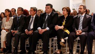 Amalia Blanco, Lorenzo del Río, José Entrena, Salvador Curial, Sandra García y Jesús Redondo.