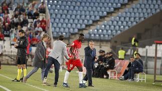 El UD Almería-Granada CF, en imágenes