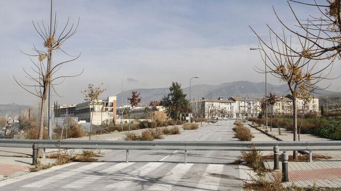 Desde la barriada de Casería de Montijo se pueden ver los terrenos.