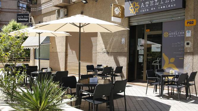 Terraza de Atelier en el Callejón del Ángel.
