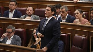 Albert Rivera vota.