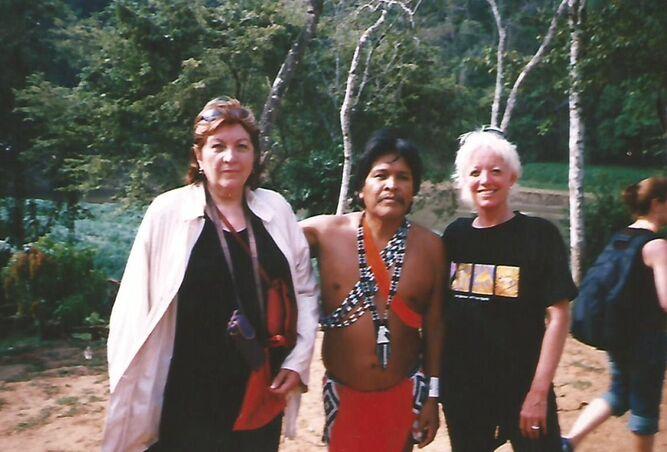 En un viaje por Panamá.