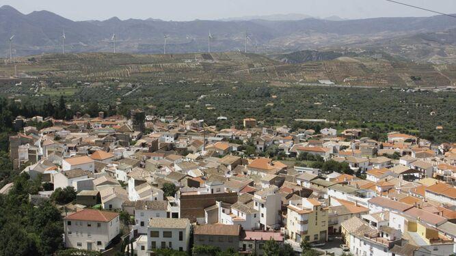 El proyecto de alta tensión por el Valle de Lecrín alteraría el paisaje en Nigüelas
