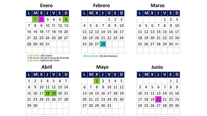 Calendario Laboral 2019 Andalucia.Calendario Laboral De 2019 Consulte Los Festivos Locales Y Nacionales