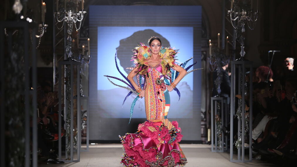 Eloy Enamorado, fotos del desfile en We Love Flamenco 2019