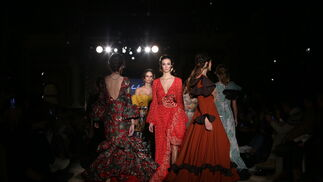Rosa Pedroche, fotos del desfile en We Love Flamenco 2019