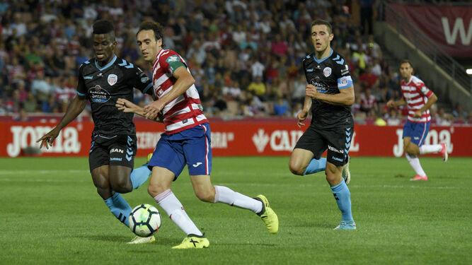 Ramón Azeez es titular en el Lugo desde la jornada decimiquinta.