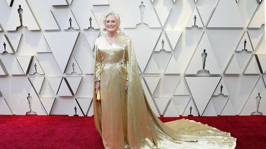 Glenn Close, de Carolina Herrera