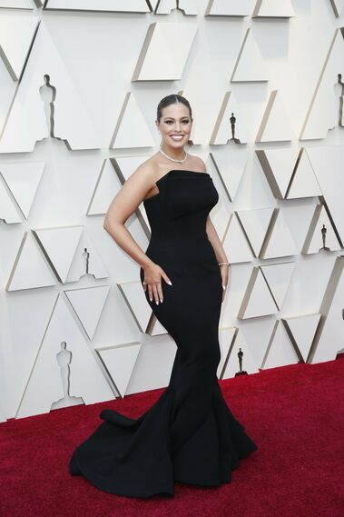 <p>Ashley Graham, de Zac Posen</p>