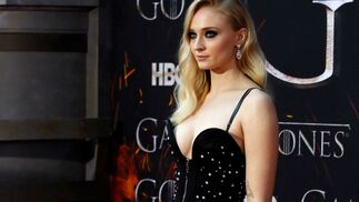 <p>Sophie Turner, de Louis Vuitton.</p>