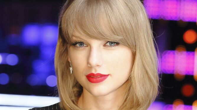 La cantante Taylor Swift.