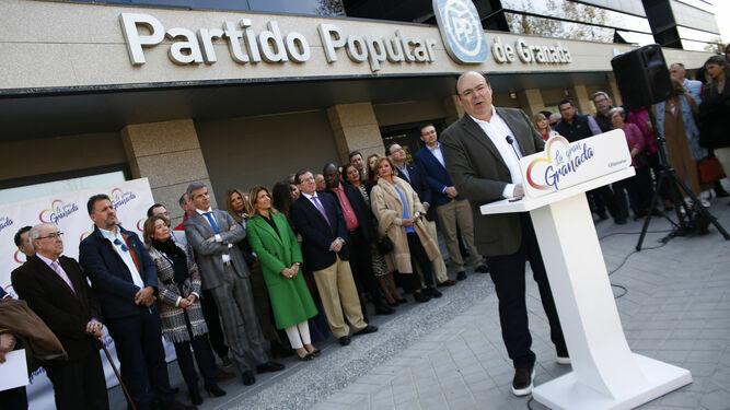 Las 18 Listas De Las Elecciones Municipales En Granada