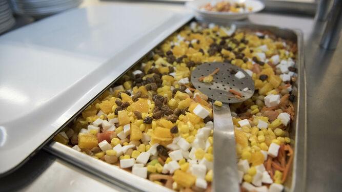 """Los menús de la UGR tendrán en cuenta la """"rica diversidad ..."""