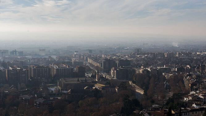 Las claves que explican la contaminación en Granada
