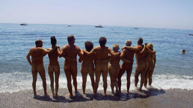 Playas nudistas Un edén llamado Cantarriján