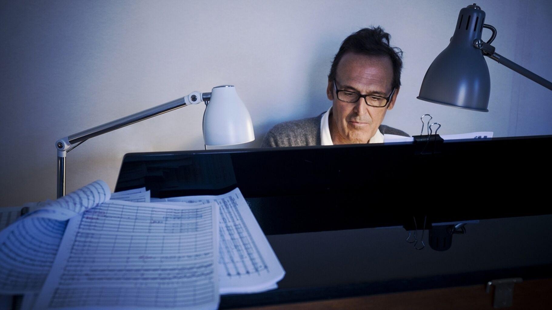 El compositor Alberto Iglesias