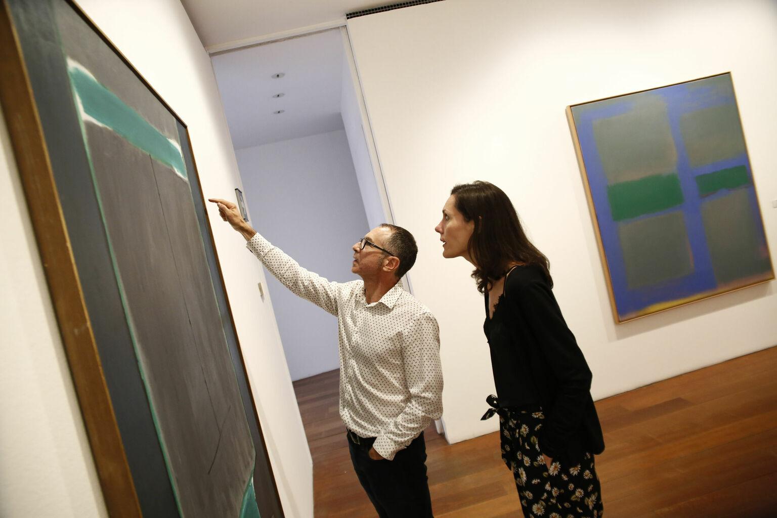 obras de arte geniales para sala de estar Guerrero Vicente Crtica Dilogo Sensato A Dos Voces