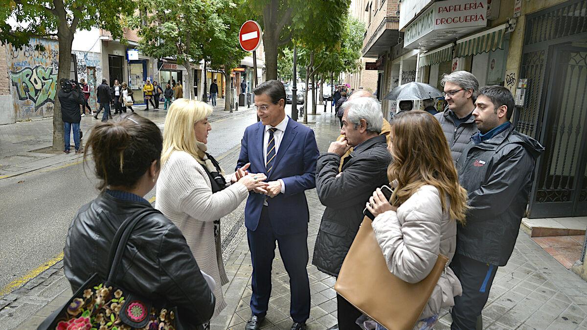 El Ayuntamiento estudiará el cambio de sentido en San Juan de Dios - Granada Hoy