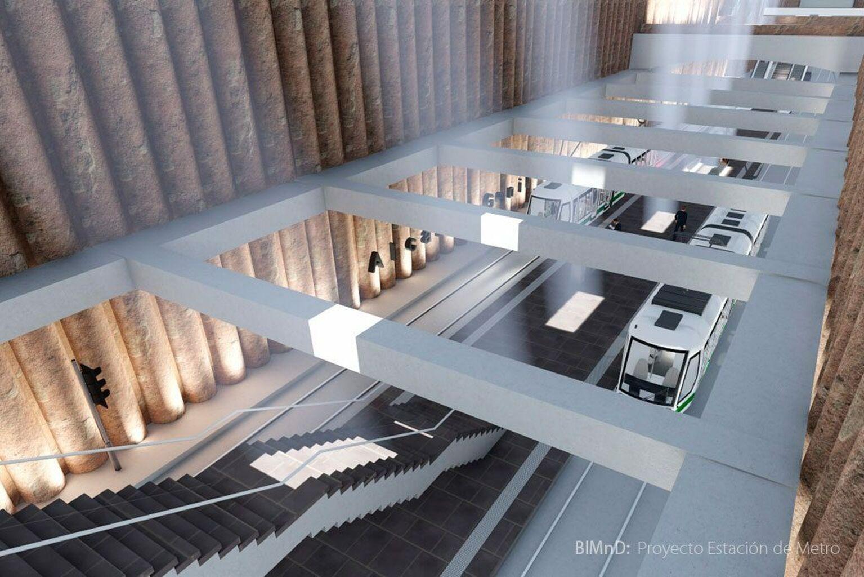 La Junta recreará en 3D el proyecto de ampliación del Metro de Granada