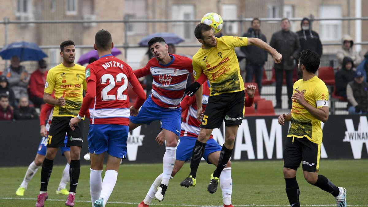 El Recreativo Granada sigue atascado en la Ciudad Deportiva - Granada Hoy
