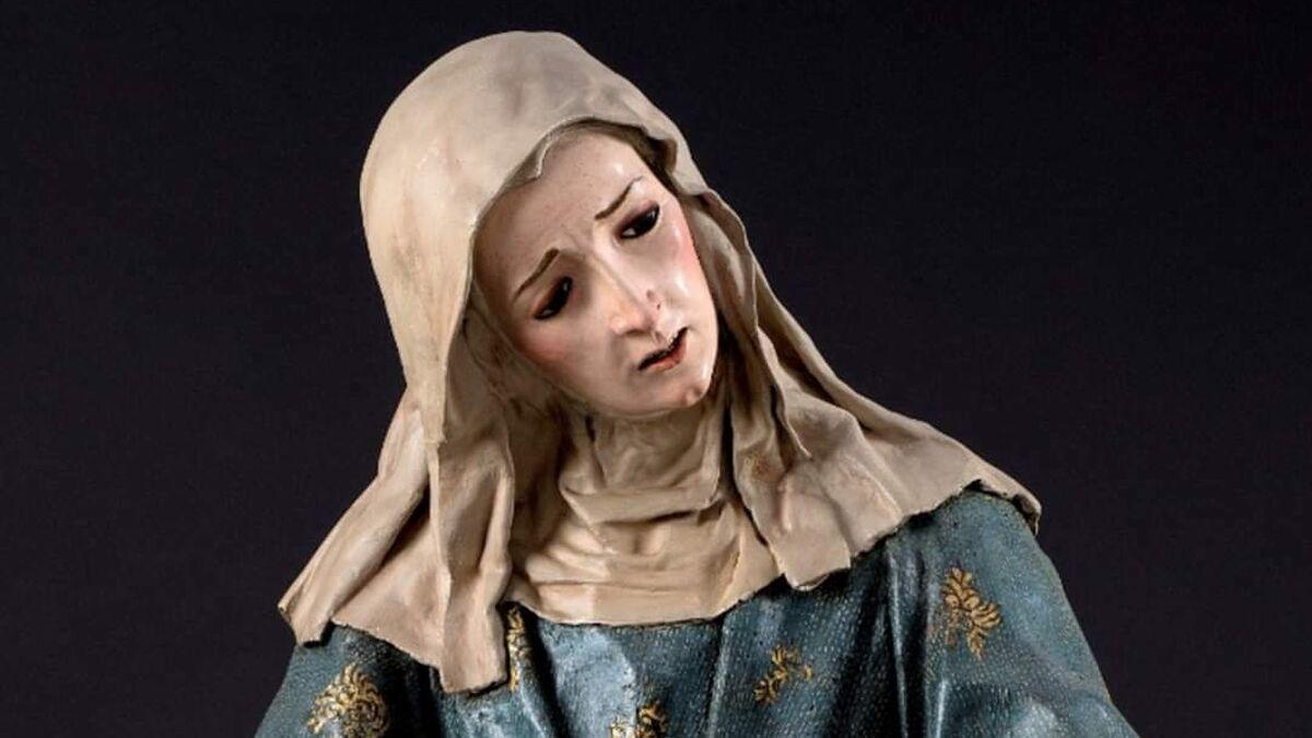 Una talla del convento de los Ángeles de Granada se vende en Nueva York
