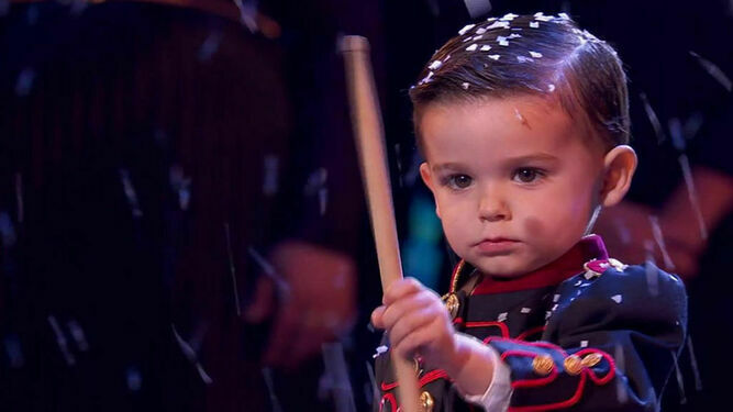 Hugo Molina en la final de 'Got Talent'