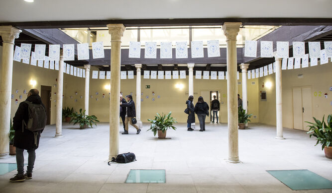 Interior del nuevo espacio cultural.