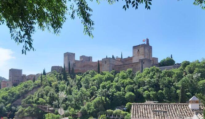 Vista desde la Placeta de Carvajales.