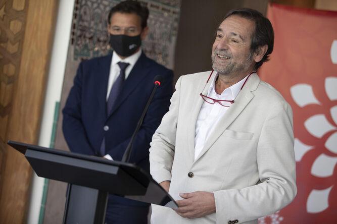 Roberto Ugarte, el gerente de la formación, en su primera intervención ante los medios.
