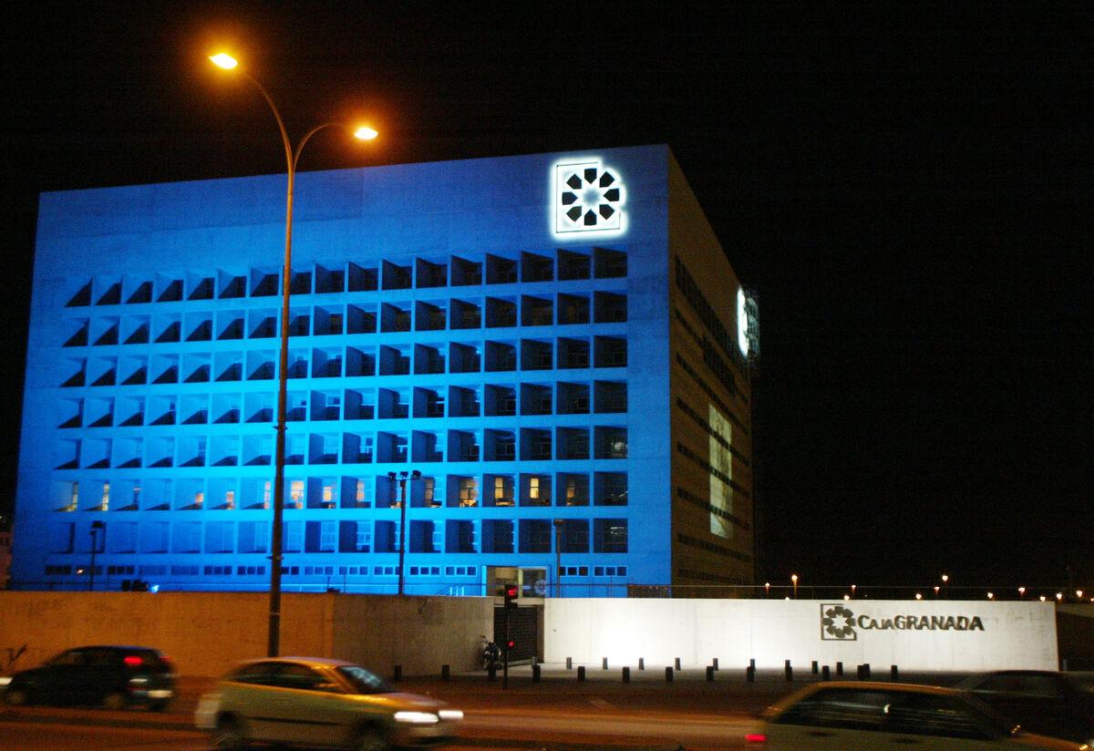 Sede de CajaGranada en 2015.