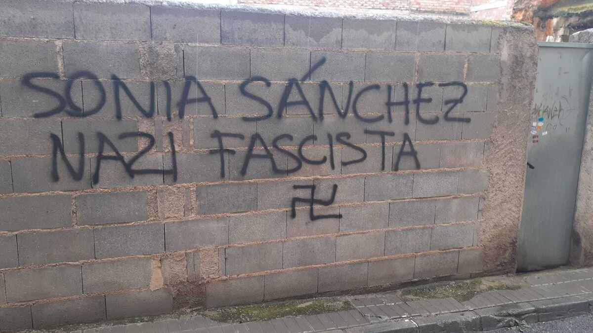 "Vox denuncia a la Guardia Civil pintadas ""amenazantes"" en el municipio granadino de Las Gabias"