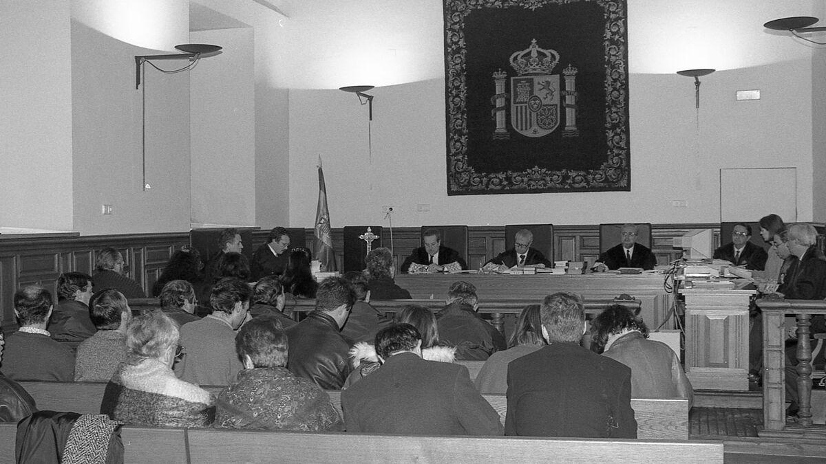 Vista de la sala en donde se celebró el juicio